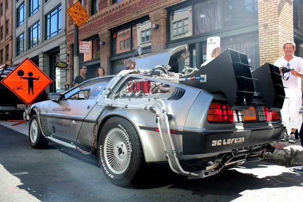 Coches de cine: DeLorean