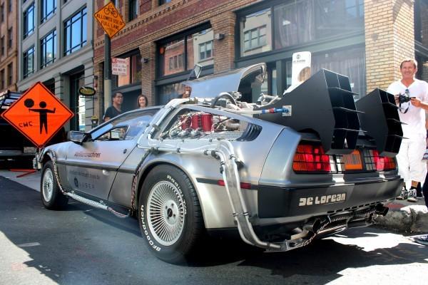 Coches de cine: DeLorean