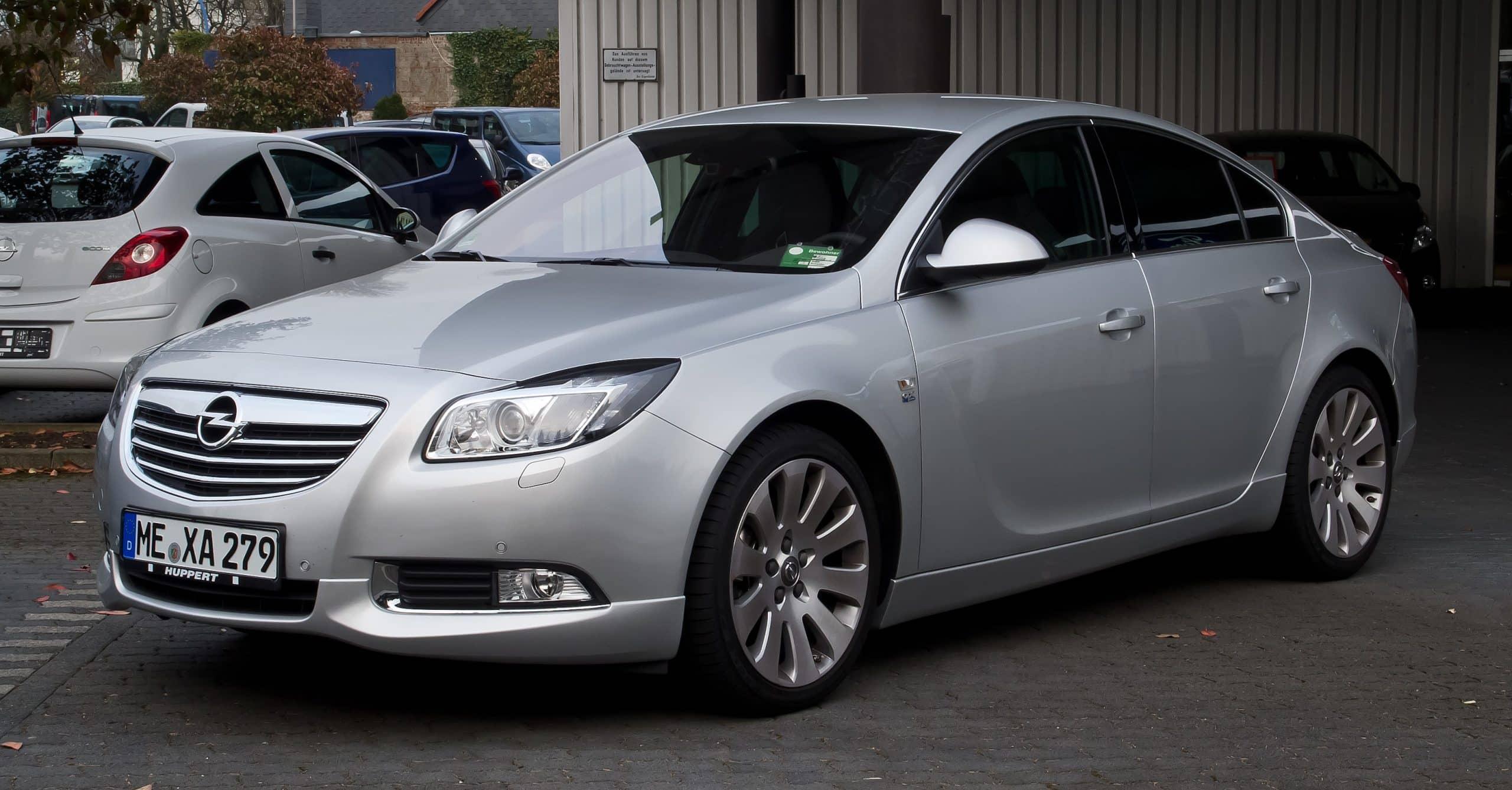 El nuevo Opel Insignia, a punto de caramelo