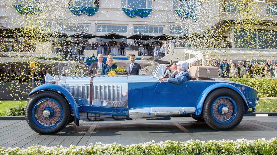 Un Mercedes-Benz S Barker Tourer de 1929 gana el Concurso de Elegancia de Pebble Beach 2017