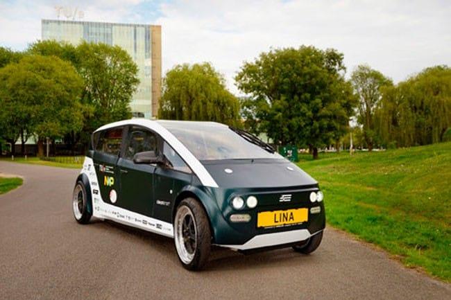 Lina, el primer coche biodegradable