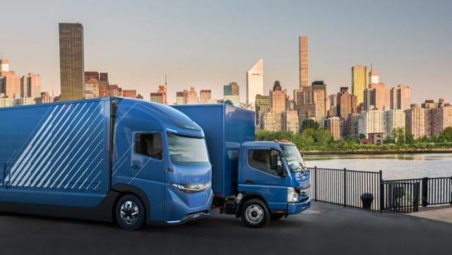 La marca Daimler presenta su camión eléctrico con más de 350 km de autonomía